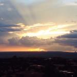 Sunset in Placitas