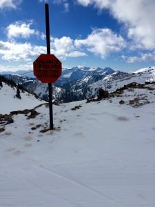 Alta/Snowbird Crossing Point