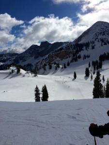 Top of Collins toward Sugarloaf, Alta